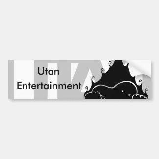 Utan Entertainment Bumper Sticker
