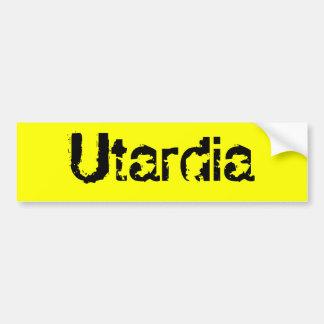 Utardia Bumper Sticker