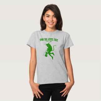 """UTAT la camiseta de las mujeres """"verdes"""" simples Remeras"""