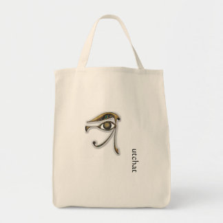 Utchat - Amulet of Protection Tote Bag