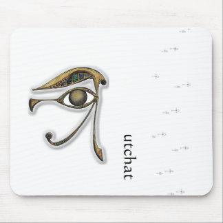 Utchat - amuleto de la protección alfombrilla de ratones