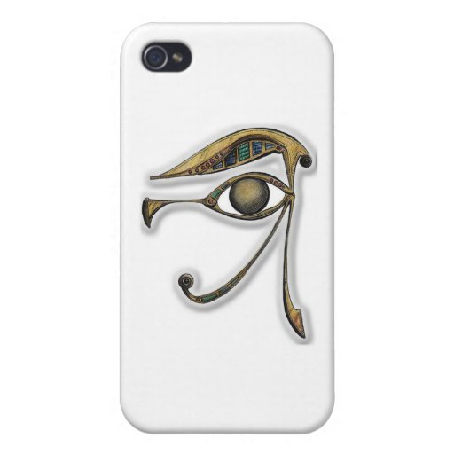 Utchat - amuleto de la protección iPhone 4/4S carcasa