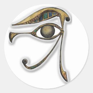 Utchat - amuleto de la protección pegatinas