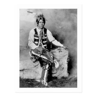 Ute Bridegroom, 1906 Postcards