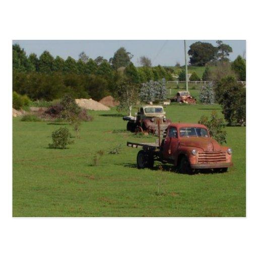 Ute Graveyard Postcard