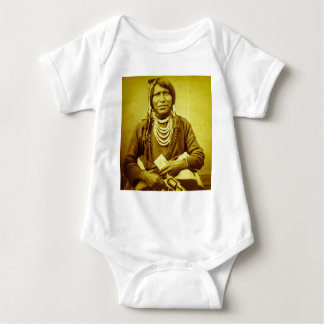 Ute Indian with Pistol Vintage T Shirt