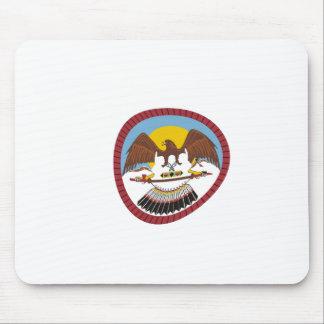 Ute Tribe Flag Mousepad