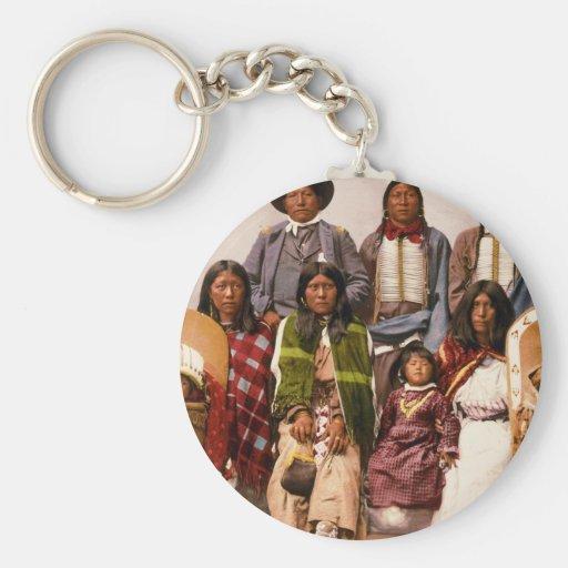 Ute tribe keychains