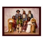 Ute tribe postcard
