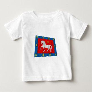 Utena County Waving Flag Baby T-Shirt