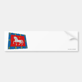 Utena County Waving Flag Bumper Stickers