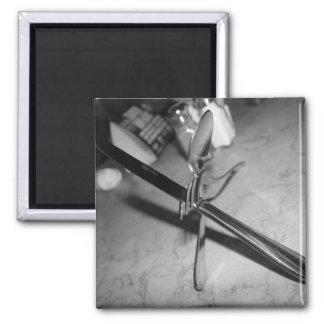 Utensils 2 Inch Square Magnet