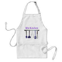 Utensils Apron with Name or Monogram