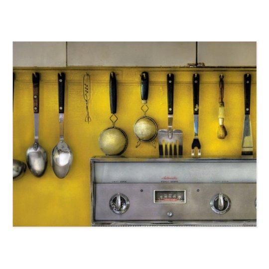 Utensils - The Kitchen Postcard
