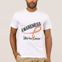 Uterine Cancer Awareness 3 T-Shirt