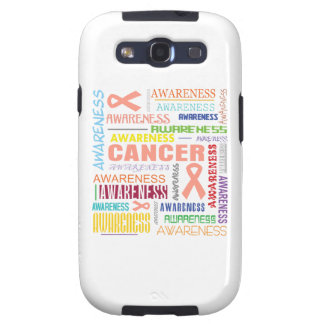 Uterine Cancer Awareness Collage Samsung Galaxy SIII Covers