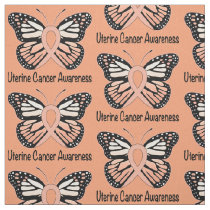 Uterine Cancer Awareness Fabric