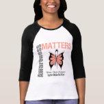 Uterine Cancer Awareness Matters Tshirts