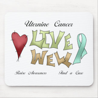Uterine Cancer Awareness Mouse Pad