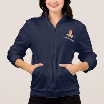 Uterine Cancer Awareness Swans Jacket