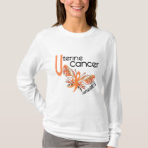 Uterine Cancer BUTTERFLY 3.1 T-Shirt