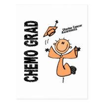 Uterine Cancer CHEMO GRAD 1 Postcard