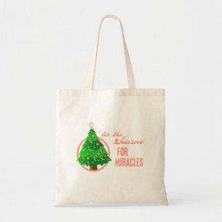 Uterine Cancer Christmas Miracles Tote Bag