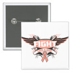Uterine Cancer Fight Like a Girl Wings.png Pins