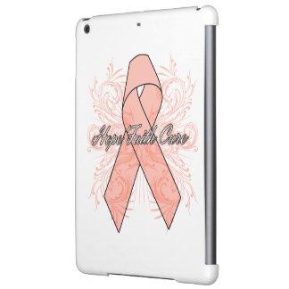 Uterine Cancer Flourish Hope Faith Cure Cover For iPad Air