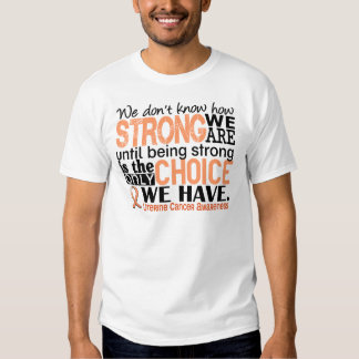 Uterine Cancer How Strong We Are T Shirt