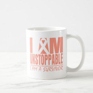 Uterine Cancer I Am Unstoppable Coffee Mugs