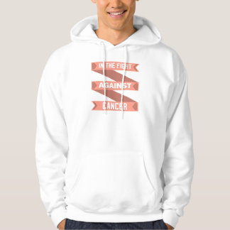 Uterine Cancer In The Fight Against Cancer Hoodie