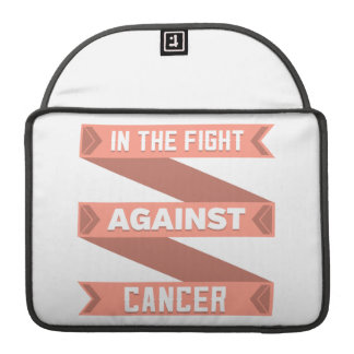 Uterine Cancer In The Fight Against Cancer MacBook Pro Sleeve