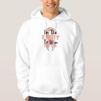 Uterine Cancer In The Fight To Win Hoodie