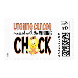 Uterine Cancer Messed With The Wrong Chick Postage
