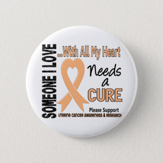 Uterine Cancer Needs A Cure 3 Button