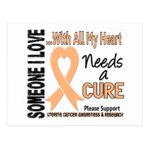 Uterine Cancer Needs A Cure 3 Postcard