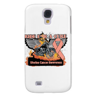Uterine Cancer Ride For a Cure Samsung Galaxy S4 Case