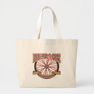 Uterine Cancer Ride For Cure Tote Bag