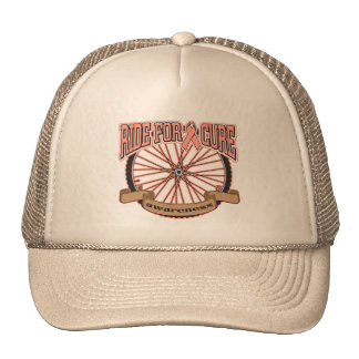 Uterine Cancer Ride For Cure Trucker Hat