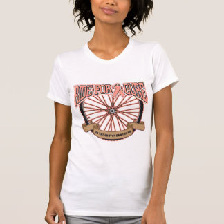 Uterine Cancer Ride For Cure Tee Shirt