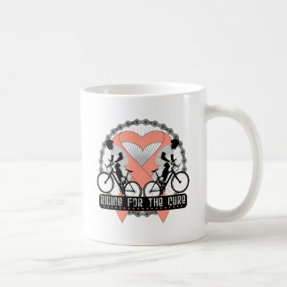 Uterine Cancer Riding For The Cure Coffee Mug