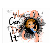 Uterine Cancer Rosie Cartoon WCDI.png Postcard