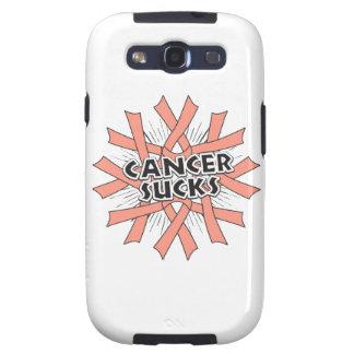 Uterine Cancer Sucks Samsung Galaxy S3 Cases