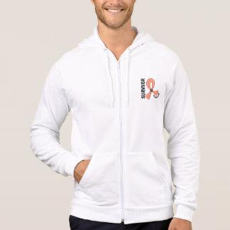 Uterine Cancer Survivor 12 Sweatshirt