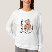 Uterine Cancer Survivor 15 T-Shirt