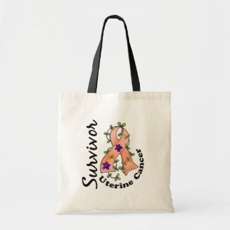 Uterine Cancer Survivor 15 Tote Bag