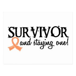 Uterine Cancer Survivor 18 Postcard