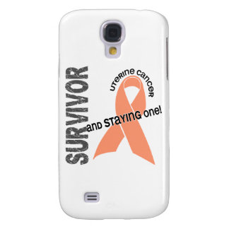 Uterine Cancer Survivor 1 Samsung Galaxy S4 Case