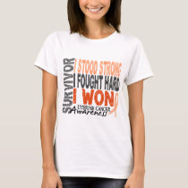 Uterine Cancer Survivor 4 T-Shirt